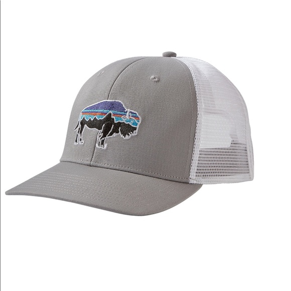 af8bde397e9 Patagonia Fitz Roy Bison Trucker Hat.